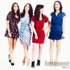 Nikki Reed, Ashley Greene, Elizabeth Reaser, and Julia Jones