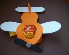 Aviãozinho Porta Bombom