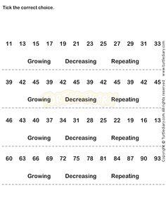Number Sequence Worksheet 15 - math Worksheets - kindergarten Worksheets