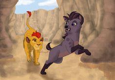 "What do you think of ""The Lion Guard"" ? Kion & Jasiri (C) The Lion Guard Sisi Ni Sawa Lion King Series, The Lion King 1994, Lion King Fan Art, Little Kid Shows, Kids Shows, Disney Junior, Disney Fun, Mickey Mouse House, Timon And Pumbaa"