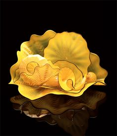 Dale Chihuly has led the avant-garde in the development of glass as a fine art.