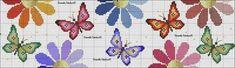 Cross Stitch, Alice, Kids Rugs, Home Decor, Patterns, Cross Stitch Flowers, Butterfly Cross Stitch, Toddler Chart, Bath Linens