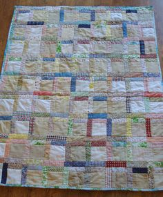 Baby Quilt by twobutterflies, via Flickr