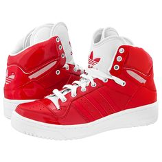 Adidas Sneaker in rot weiß #Adidas