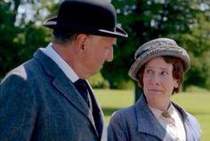 The look of love - Mrs Elsie Hughes Phyllis Logan Mr Charls Carson Jim Carter Downton Abbey Series Season 5.8