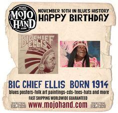 Blues Birthday - Big Chief Ellis