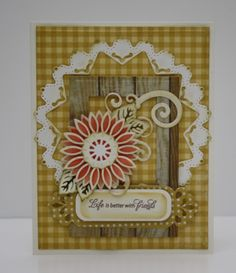 Life is better with Friends Card by Christine Emberson