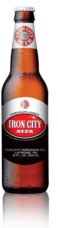 The beer of Pittsburgh - Iron City Beer.  It's a bit harsh.....kinda like Pittsburgh.