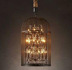 #birdcage #chandelier