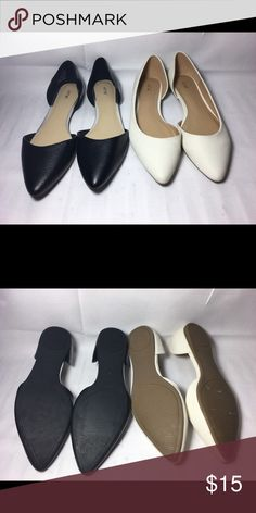 Apt. 9 pointed flats bundle You will be styling in these apt.9 pointed toe flats both are size 6, shoes are new from store display and have not been tried on or worn.' Apt. 9 Shoes Flats & Loafers