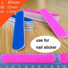 10Pcs/lot Nail Files Buffer 180/240 Double Side Mini Sanding Nail File Manicure File Supplier Buffers Slim Crescent Grit Callus #>=#>=#>=#>=#> Click on the pin to check out discount price, color, size, shipping, etc. Save and like it!