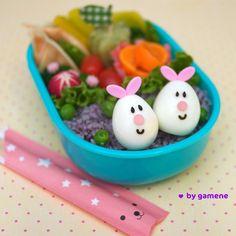 Bento box (bunny eggs!)