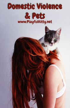 Domestic violence is hard to talk about, but there is hope for victims and their pets!