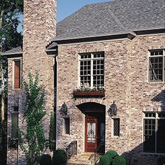 Brick color: Mt Rushmore.  Boral Bricks