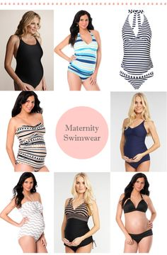 Maternity Swimsuits |  La Petite Peach |