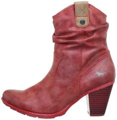 d8c33fff003 Mustang Damen-Stiefelette Cowboy Boots Womens Red Rot (rot 5) Size  3.5