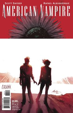 American Vampire #34 by Rafael Albuquerque // #comics
