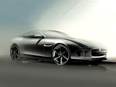 Jaguar C-X16 Concept Design Sketch