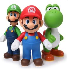 "Figurine Mario Bros /""Mario/"" PVC 11 cm Décorations tendances"