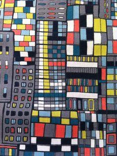 modern oilcloth fabric - 680×910