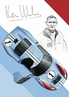 Ford Gt40, Gt Cars, Race Cars, Ac Cobra, Bugatti, Moto Guzzi, Steve Mcqueen, Ken Miles, Chevy