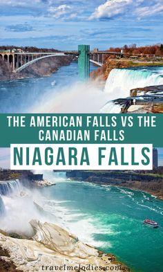 Niagara Falls New York, Visiting Niagara Falls, Canada Travel, Travel Usa, Travel Tips, Niagara Falls American Side, Fall Vacations, Dream Vacations, 7 Natural Wonders
