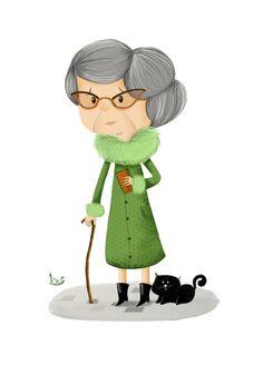 """Résultat de recherche d'images pour """"grand-mère dessin"""""""