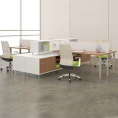 contemporary office furniture |  office with modern furniture