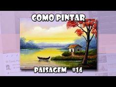 Como Pintar Paisagem #14 (Passo a Passo) - YouTube