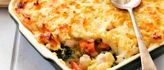 Country Chicken Cottage Pie recipe from Food in a Minute