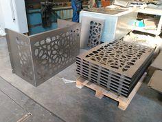 Door Gate Design, Fence Design, Metal Sheet Design, Air Conditioner Cover, Balcony Railing Design, Sheet Metal Fabrication, Cnc Cutting Design, Wooden Gazebo, Laser Cut Panels