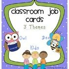 Job Cards for you Classroom Job Chart! 48 CARDS IN ALL WITH AN EXTRA 12 BLANK CARDS!  Grab these job cards to promote responsibility in a cute way ...