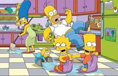 """One Calgary couple has put their love of """"The Simpsons"""" on full display, recreating their very own replica of the cartoon family's colorful kitchen."""
