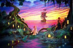 Neverland mural idea as seen on www.findamuralist.com
