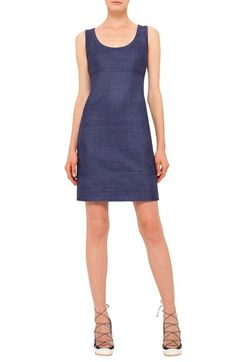Akris punto Scoop Neck Silk Dress $596.98  #TopSale #newarrivals #TopDesinger