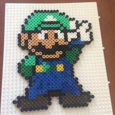 Luigi hama beads by concetta_tuttobene
