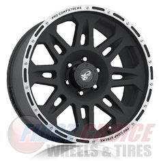 """Pro Comp 7105   Flat Black Machined   17"""" Call for Pricing: 800.290.1683 Pro Comp, Flat, Bass, Dancing Girls, Flat Shoes"""