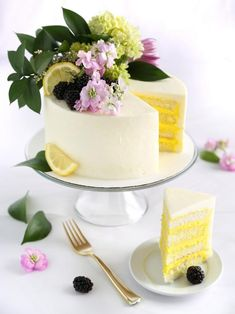The entertaining experts at HGTV.com share a recipe for a lemon-elderflower cake inspired by the Royal Wedding.