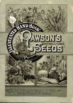seed catalogue 1886