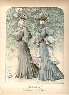 [De Gracieuse] Wandeltoiletten (April 1906)