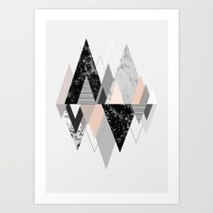 Graphic 117 X Art Print by Mareike Böhmer Graphics | Society6