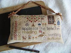 """""""September"""" de With thy needle & thread""""  Brodé par L'atelier cerise de lin"""