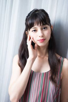 Japanese Models, Japanese Girl, Fashion Models, Girl Fashion, Asian Cute, Portrait Poses, Portraits, Hairstyles With Bangs, Female Bodies