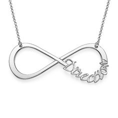 XXL One Direction Infinity Necklace One Direction Shoes, Bae, Megan Mckenna, Infinity Necklace, Swarovski Crystals, Jewelery, 1direction, My Style, Silver