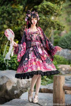 Kawaii Fashion, Lolita Fashion, Gothic Lolita Dress, Doll Patterns, Harajuku, Fashion Dresses, Beautiful Women, Cosplay, Costumes