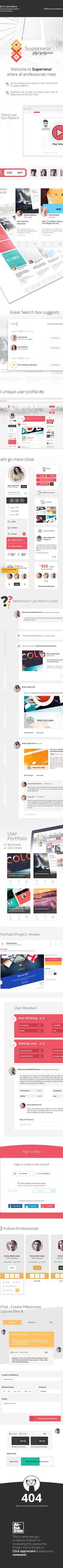 Superneur UX/UI Platform