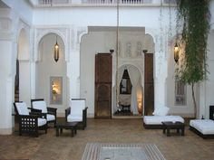 I stayed here ,in Morocco.