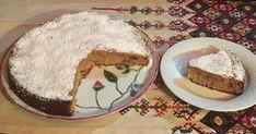 Υλικά για φόρμα ή ταψί 26-28εκ.:  230γρ. καλαμποκέλαιο ή λιωμένο φρέσκο βούτυρο (1κούπα) 300γρ. σπιτική μαρμελάδα πορτοκαλιού (1κούπα)... Pie, Pudding, Desserts, Food, Torte, Tailgate Desserts, Cake, Deserts, Fruit Cakes