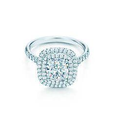 Round Brilliant Ribbon Ring Engagement Rings | Tiffany & Co.