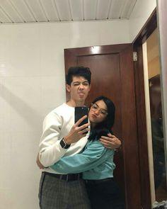 Ulzzang Couple, Ulzzang Boy, Cute Relationship Goals, Cute Relationships, Couple Aesthetic, Aesthetic Pictures, Cute Couples Goals, Couple Goals, Mahal Kita